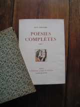 VERLAINE, Paul. FEL, William (ill.). Poésies complètes. Paris, Édition d\'art H. Piazza. 1942. Tome V seul.