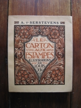 T\'SERSTEVENS, Albert. JOU, Louis (Ill.) Le carton aux estampes. Paris, A. et G. Mornay, 1922. Édition originale.